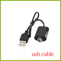 usb kabel für e cig großhandel-E-Cig Ego elektronische Zigarette USB-Ladegerät für Ego, Ego-T, 510 elektronische Zigarette e cig Gesunde E-Zigarette USB-Kabel DHL