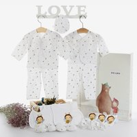 Wholesale Baby clothes newborn baby suits full moon baby products
