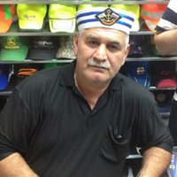 Wholesale Wholesale Men Women Hats - 2017 New Unisex Badge Emboridery Military Hat Cotton Striped Brim Sailor Cap Stage Performance Hats For Men And Women