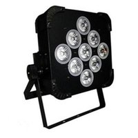 Wholesale Rgbwa Led Par - New Arrivel LED Stage Lighting LED PAR Lights Available Battery Power and Wireless DMX Par Light 9*15W RGBWA LED Effect AC 100-240V 50 60Hz