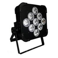 pil led ışık dmx toptan satış-Yeni Arrivel LED Sahne Aydınlatma LED PAR Işıkları Mevcut Pil Gücü ve Kablosuz DMX Par Işık 9 * 15W RGBWA LED Etkisi AC 100-240V 50 / 60Hz