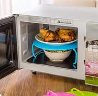 ingrosso forni a cremagliera-Bollitore multifunzione caldo Forno a microonde Ripiano doppio riscaldato Vassoio rack Contenitori a strati Utensili da cucina Accessori da cucina