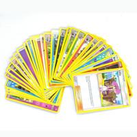 Wholesale Tv 13 Wholesale - Poke Trading Cards Games Sun&Moon English Edition Anime Pikachu Cards Toys 324pcs set C2488
