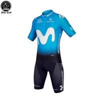 Wholesale Clothes Mtb - NEW 2018 Classical CHAMPION mtb road RACE Team Bike Pro Cycling Jersey Sets Bib Shorts Clothing Breathing Air JIASHUO Multi Chooses