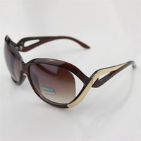 Wholesale big clearance - Mixed batch Sunglasses clearance lady PC big frame sunglasses women's outdoor anti UV Sunglasses