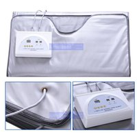 Wholesale Infrared Blanket Therapy - FIR Far Infrared Sauna Blanket Weight Loss Body Slimming Blanket Infrared Ray Heat SPA WEIGHT LOSS therapy detox machine