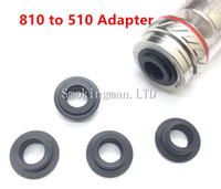 Wholesale Drip Tip Adapters - POM TFV8 810 to 510 Adapter for TFV8 drip tip Tank Connector Adapter E Cigarette tfv12 TFV8 Drip Tips Adapter