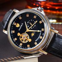 Wholesale Hand Watch Machine - 2017 hot selling automatic machine, men's watches, tourbillon, business clock, free shipping