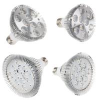 Wholesale Par Dim - triac dimmable par20 par30 par38 E27 led light bulbs led spotlight 9W 10W 14W 18W 24W 30W LED PAR lamps silicon controlled dimmer