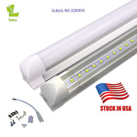 Wholesale Wholesaler Led Products - US in stock best product Integrated T8 LED Tube 4FT 22W SMD 2835 tubes Light Lamp 1.2M 85-265V Bulb led fluorescent lighting