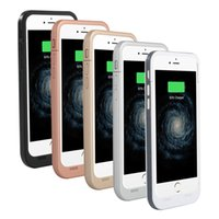 Wholesale External Battery Back - 7000 mAh Portable Power Bank for iphone7 5.5inch Color Border External Back Clip Lithium Battery Charger with Protective Plate for IOS