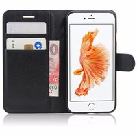 Wholesale Diary Pouches - Wallet Case for Samsung S8 iPhone 8 Rich Diary PU Leather Phone Case Card Slot Kickstand CaseFor iPhone 7 in OPP Bag