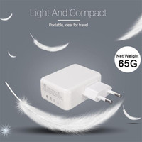 Universal 4 ports Portable EU UE Plug Travel Wall Chargeur Pour I phone I pod Samsung Autres Andriod Avec Retail Box