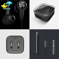 Wholesale Earbuds Mic Remote - Xiaomi Piston 3 Earphones 3.5mm Miband Stereo cell phone Earphones Earbuds With Remote Mic handsfree volume earphone