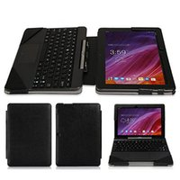 "Wholesale Tablets Asus Transformer Pad - Wholesale- PU Book Leather Case Cover (With Keyboard Case) For ASUS Transformer Pad TF103C TF103CE TF0310C K010 K010e K018 10.1"" Tablet PC"