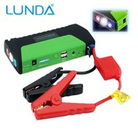 LUNDA 12600mAh 12V Car Jump Starter per motori fino a 3L Gas e 2.5L Diesel Auto Battery Booster Caricabatterie Phone Power Bank