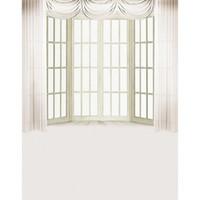 Wholesale Vinyl Backdrop Door - 5x7ft Vinyl Digital Indoor White Curtain Wood Door Window Photography Studio Backdrop Background