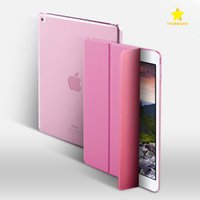2017 Smart Cover Case Sleep Wake TPU Couro Stand Tablet Case para Apple iPad Pro9.7 Air1 / 2/3 Mini1 / 2/3/4