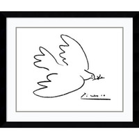 Wholesale Canvas Wall Art Ideas - Home decor wall designs ideas art stickers decal interior decoration oil painting simple line drawing dove of peace by Pablo Picasso