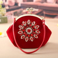 Wholesale handbag making - 2017 New Fashion Brand Women Fashion Diamonds Corduroy handbag Cosmetic Bags Make Up Travel Toiletry Storage bag Makeup Bag