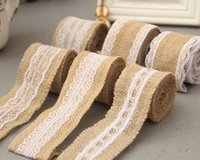 Wholesale Wholesale Linen Rolls - Linen roll, lace, DIY handmade Christmas Wedding Crafts, lace linen styles are rich and varied