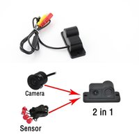 Wholesale View Sales - Most Hot Sale Esky 170 Degree Viewing Angle HD Waterproof Car Rear View Camera with Radar Parking Sensor