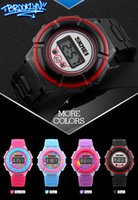 Wholesale Girl Hour - Boy and Girl Sports Child Watches Children's Fashion Casual Digital LED Wristwatch Student Hours Latest arrival Watch SKMEI 1097