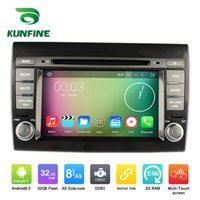 Wholesale Car Dvd Player Fiat - Octa Core 1024*600 Android 6.0 Car DVD GPS Navigation Multimedia Player Car Stereo for Fiat Bravo 2007 2008 2009 2010 2011 2012 Radio