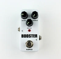 Бесплатная доставка FBS-2 Mini Overdrive Guitar Effect Педаль Guitarra Overdrive Booster High-Power Tube Guitar Two Segment EQ Effect Device