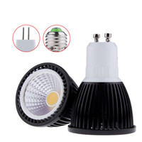 Neue LED Birne E27 / GU10 / MR16 Birnen Licht 110V / 220V Dimmable Led Lampe MR16 12V Warm / Cool White COB LED Scheinwerfer 60angle CE