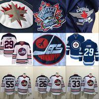 Wholesale Byfuglien Jersey - 2016 Heritage Classic Jersey Winnipeg Jets Hockey 55 Mark Scheifele 33 Dustin Byfuglien 26 Blake Wheeler 29 Patrik Laine 57 Tyler Myers