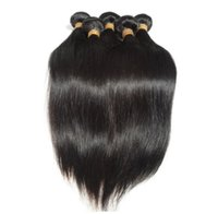 Wholesale New Retail Products - Retail 1pc New virgin peruvian hair straight fast shipping human hair extension hair products free shedding