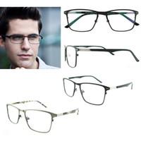 Wholesale Glasses Large Bag - big glasses frame optical full eyeware frame men spectacle frames designs business prescription eyeglasses large eyewear