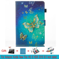 Wholesale Skin Kindle China - For Kindle hd 8 tablet Case protects the skin from the TPU