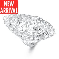 Wholesale Diamond Aquamarine Engagement Rings - Solitaire ring designs jewelry diamond silver womens rings promise ladies jewelry titanium antique tanzanite peridot engagement aquamarine m