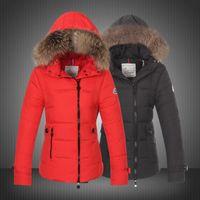 Wholesale Womens Long Down Jacket Xs - Womens tops fashion women winter 2015 Duck Down Fur Collar Women Jacket outerwear coats