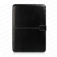"""Wholesale 15 Laptop Shockproof Case - PU Leather Shockproof Folio Book Wallet Case Cover for Apple Macbook Air Pro 11'' 12'' 13"""" 15"""""""