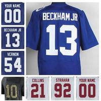 Ice Hockey Unisex Short CUSTOM Football jersey Odell Beckham Jr Eli Manning  Brandon Marshall Giants Jason ccc87e21e