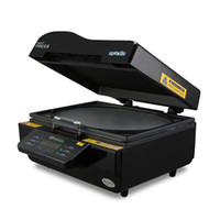 hitzepressemaschine drucker großhandel-Schnelles Versand 3D Vakuum Sublimation Transferpresse Transfer Maschine Drucker Telefon Fall / Platte / Becher Schwarz