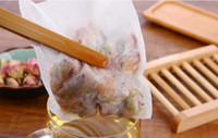 Wholesale Tea Bag Heat - 1000Pcs Lot 10 x 14 CM Heat Sealing Empty Non-woven Fabric Tea Bags Loose Tea Infuser Tea Strainer Coffee Spice free shipping TY2142