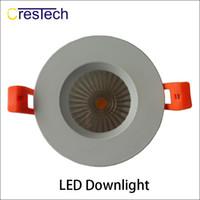 Wholesale Led Light For Commercial Offices - LED light AC 85 - 265v Ceiling light LED Downlight Grid ceiling lamp for home office using commercial luminiare