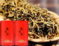 ingrosso yunnan tè all'ingrosso-500g Wild Spring Dian Hong Tè Fiorito Frgrance Yunnan Kungfu Tè Nero Fengqing Dianhong dian hong BT-026 all'ingrosso