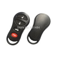 3 + 1 Pulsanti Sostituzione Shell Telecomando automobile chiave Key Case Housing Keyless Entrata Fob per Chrysler Dodge