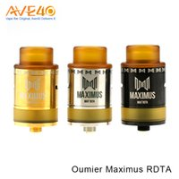 OUMIER Maximus RDTA Ecig Tank Suit 810 Drip Tip 510 Thread VS OUMIER WASP fit Smok T priv Mod 100% Original