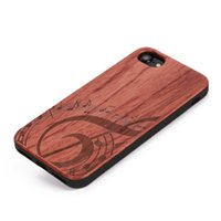 Wholesale i phones for sale - U I Rosewood Phone Cover Case for IPhone s plus plus with Soft TPU Bumper Wood Cell Phone Case for Sale