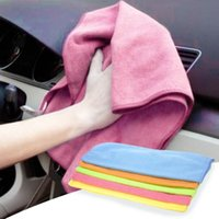 Vente en gros 5PCS Car Styling Car Wash Nettoyer Sponge Brush Serviette de nettoyage à usage multiple Verre Cleaner Wave Car Wash pour serviette ultra-fine en fibre