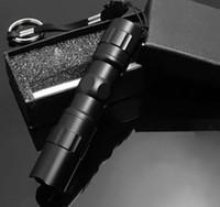 ganchos de ímãs brancos venda por atacado-Alumínio 3 W Tocha Handy Lanterna À Prova D 'Água LEVOU Super Brilhante para Sporting camping luz do flash com Caixa de Presente