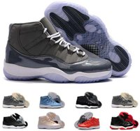 Wholesale Retro Wine Cooler - New Retro 11 Velvet Heiress Night Maroon Men Women Basketball Shoes Wine Red 11s Cool Grey Sports Sneakers High Quality With Shoes Box