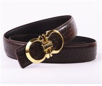 Wholesale Cheap White Leather Belts - Product best-selling cheap high quality stamping of eight wide belt unisex fashion high-grade leather belt