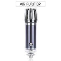 ozônio oxigênio venda por atacado-Novo Mini purificador de ar Purificador de ar 12 V Mini Car Auto Ionic purificador de ar fresco Oxygen Bar Ozônio ionizador Cleaner